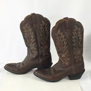 Ariat Brown Western Cowgirl Boots